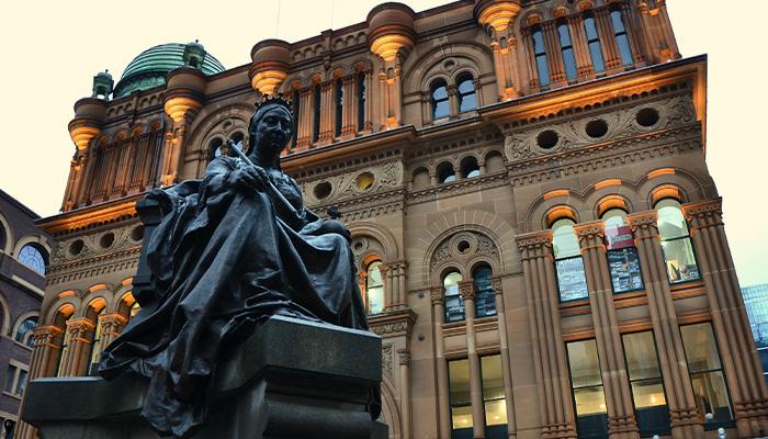 ไปช็อปปิ้งกันที่ Queen Victoria Building ออสเตรเลีย