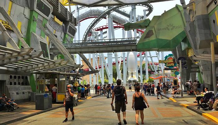 Universal Studios Singapore สวนสนุกสุดมันส์ สิงคโปร์